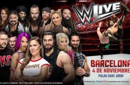 Sorteo de entradas para los WWE Live