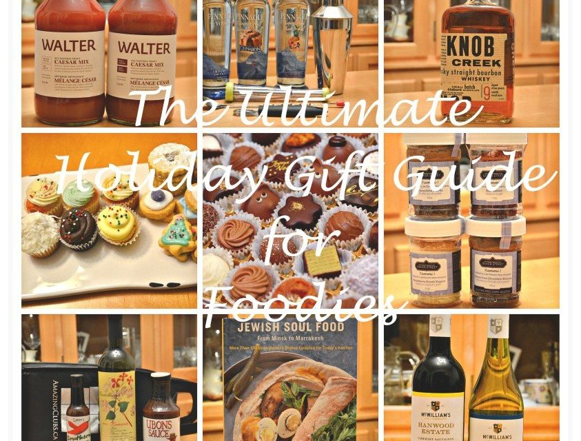 The Ultimate Holiday Gift Guide for Foodies 2014