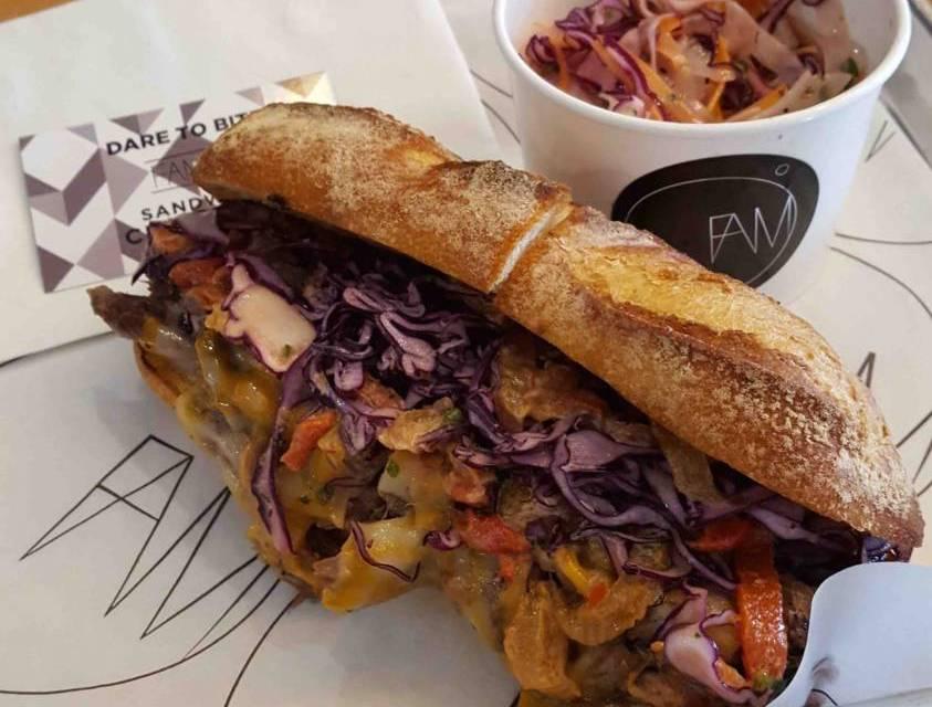 FAMO's Unique Sandwich Creations Opens in Moss Park
