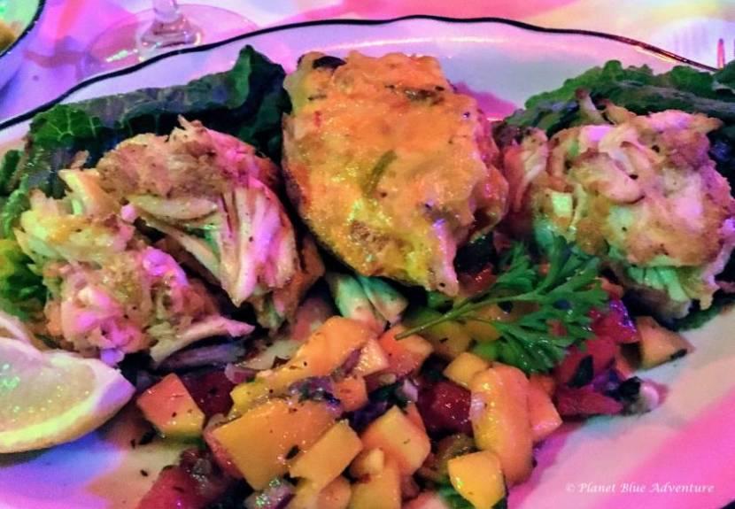 Treasure Coast Florida - Jumbo Lump Crab Cake, Ocean Grill