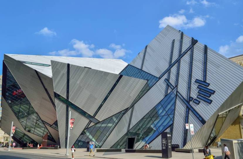 Royal Ontario Museum Crystal Entrance