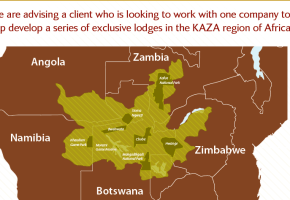 "JV ""OFFER"" to develop up to 50 lodges with an experienced lodge owner in sub-Saharan Africa."