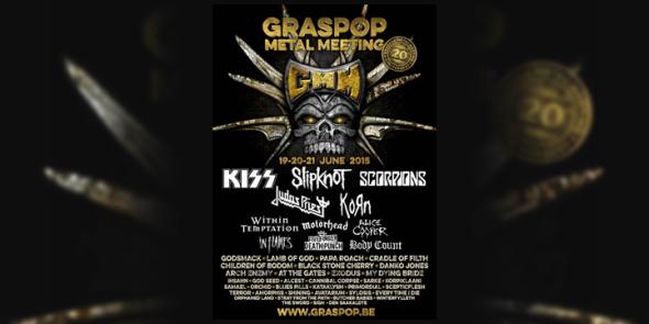 GRASPOP 2015  LINE UP