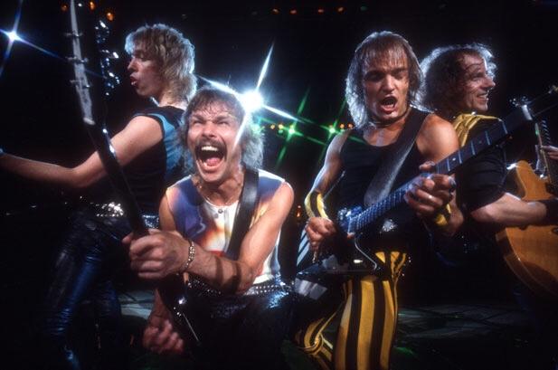 Scorpions en accion