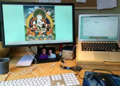 Dharma Work Desk