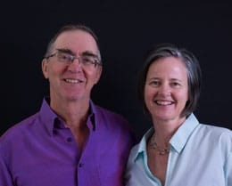 Dharma Teachers Doug and Catherine