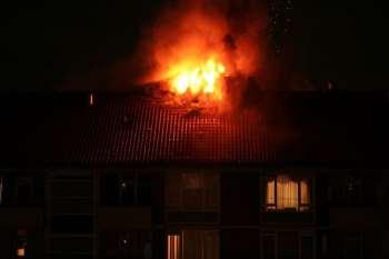 Fire Sermon, burning house