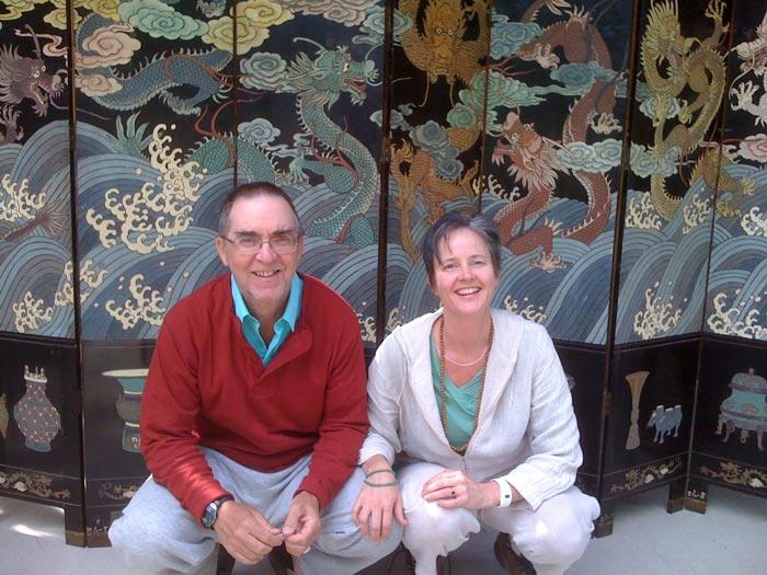 Catherine Pawasarat & Doug Duncan Dharma Teachers