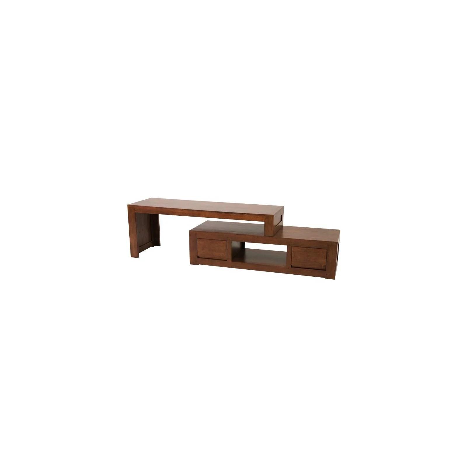 meuble tv design fjord hevea