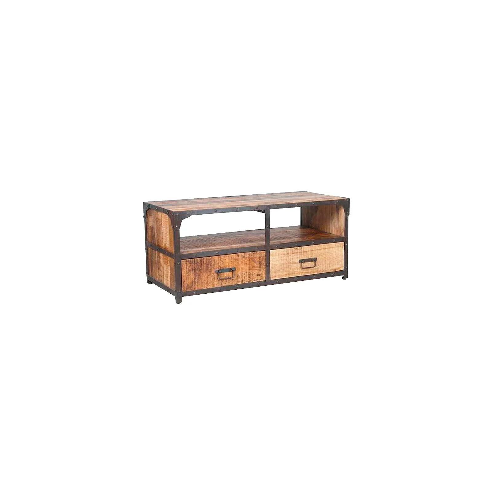 meuble tv industriel pm fabric manguier