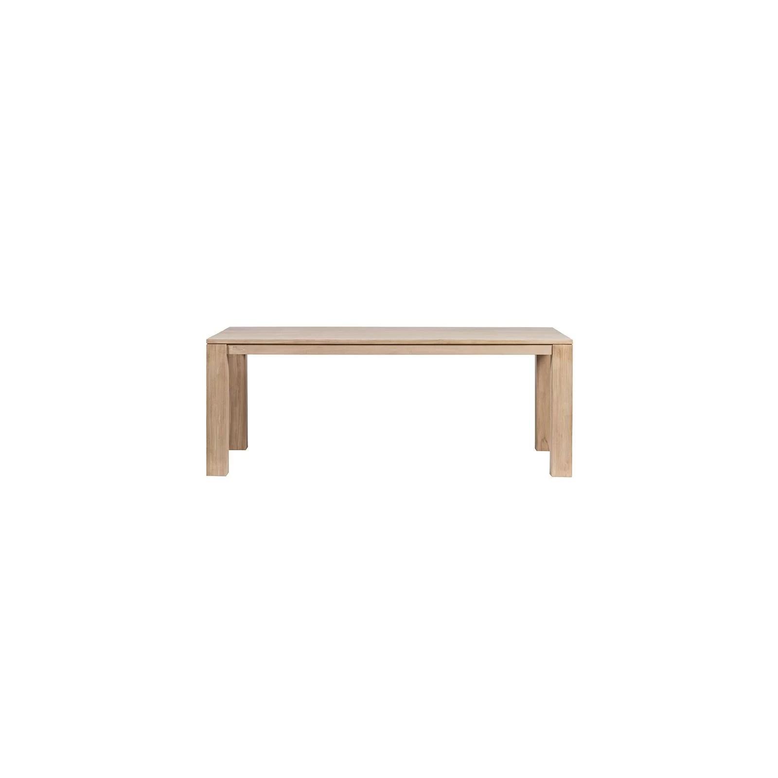 table carree avec rallonge extensible