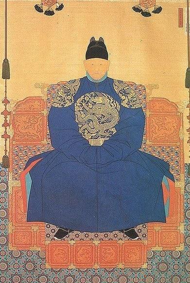 C'est un portrait officiel probable du Prince Anpyeong de 1453.