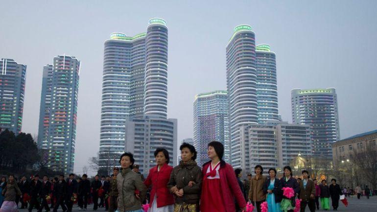 Pyongyang Celebrates kim-il-sung-s-100th-birthday 2012
