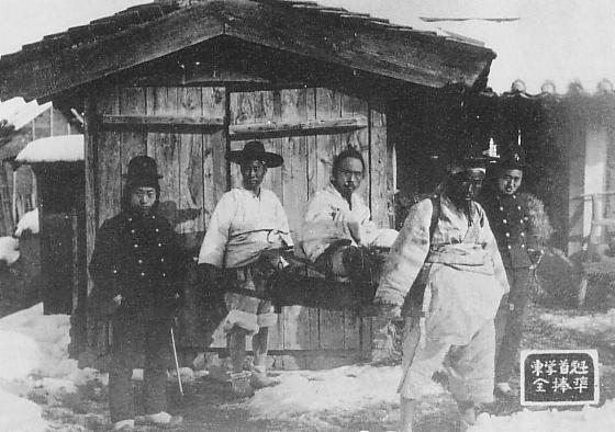 L'arrestation de Jeon Bong-jun en 1895