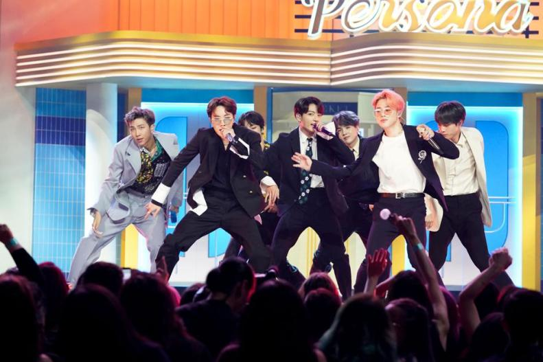 BTS aux Billboard Music Awards 2019 au MGM Grand, Las Vegas, Nevada
