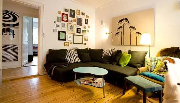 un petit appartement pour deux planete deco a homes world. Black Bedroom Furniture Sets. Home Design Ideas