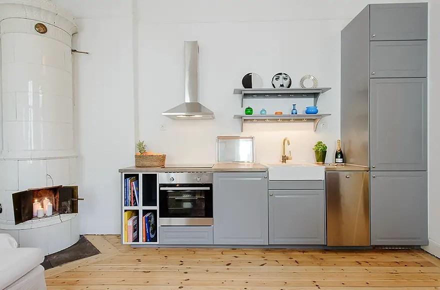 Les petites surfaces du jour : transformer un studio avec cuisine ...