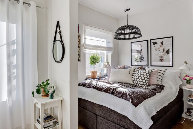 comment isoler le coin chambre dans un studio planete. Black Bedroom Furniture Sets. Home Design Ideas