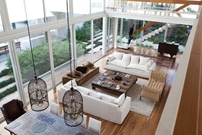 Une maison d 39 architecte ouverte sur son jardin planete - Juegos de decoracion de casas grandes ...