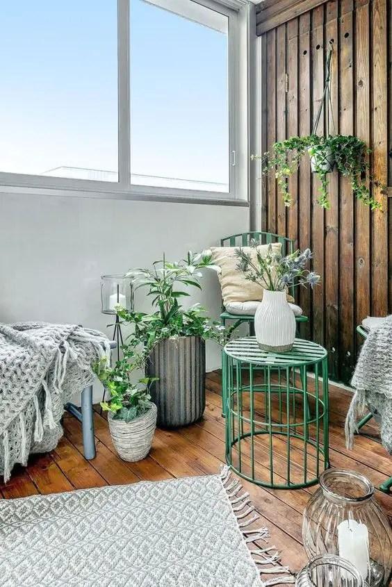 Comment am nager vos terrasses et balcons d 39 t for Deco balcon hiver
