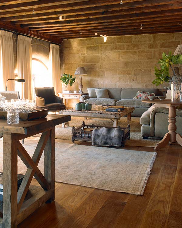 Stunning Chambre Rustique Chic Contemporary - ansomone.us ...