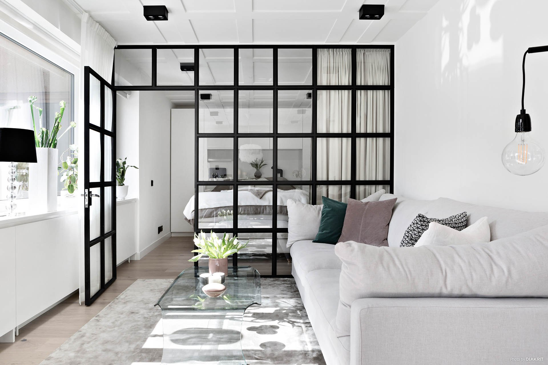 Whether It Is A Renovation Or A New Construction As Here, This Decorative  Element Replaces The Solid Partitions In The Small Apartments, Retaining  The ...