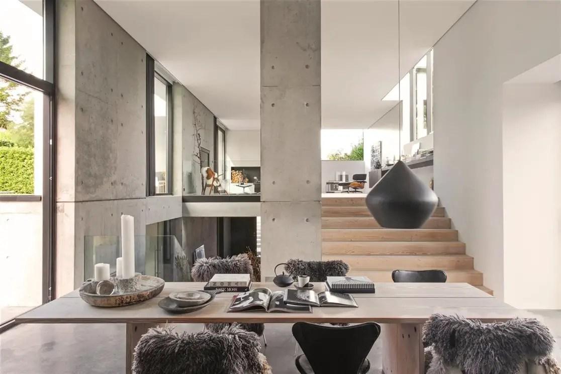 lignes simples et b ton pour une maison danoise planete. Black Bedroom Furniture Sets. Home Design Ideas