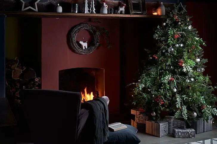 un no l au naturel en angleterre planete deco a homes world. Black Bedroom Furniture Sets. Home Design Ideas