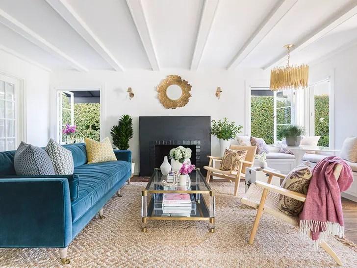 Une maison nord-américaine en couleurs douces - PLANETE DECO ...