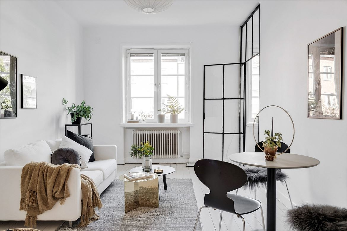 Un appartement au look épuré et blanc planete deco a homes world
