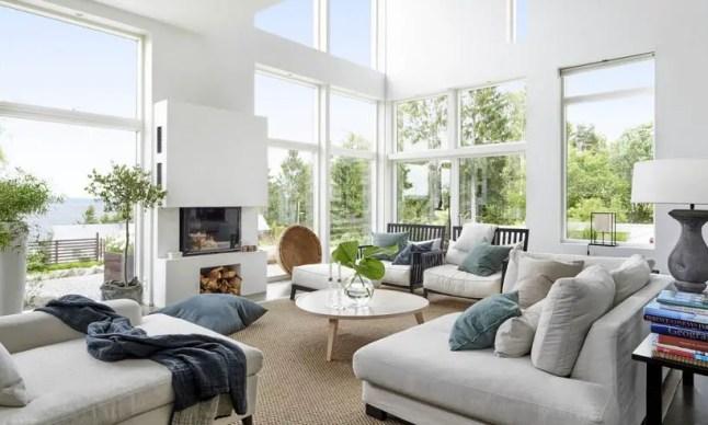 Design et bois pour une maison scandinave