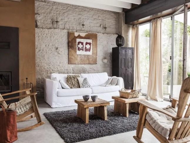 La rénovation d'une maison au design campagnard contemporain