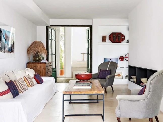 La rénovation d'une maison par une designer d'intérieur à Ibiza