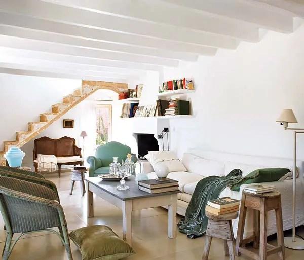 Une maison sous le soleil d'automne à Majorque