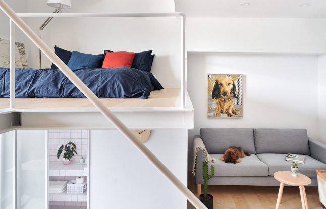 Un micro appartement au design compact