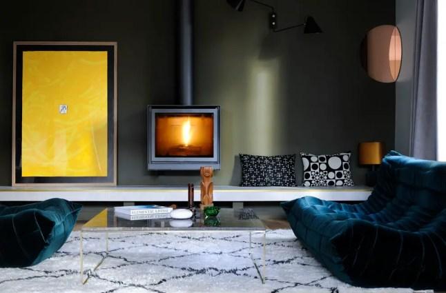 Une maison de ville près de Paris par Carole Dugelay Interior Design