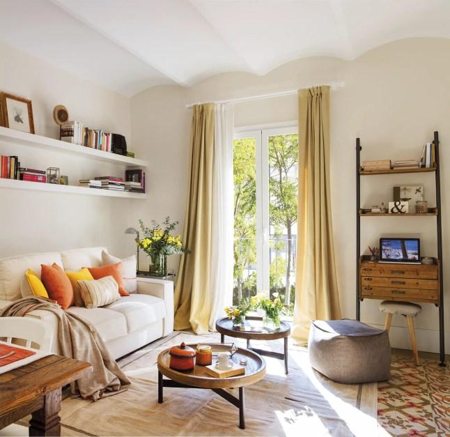 La rénovation d'un appartement espagnol pour un jeune couple