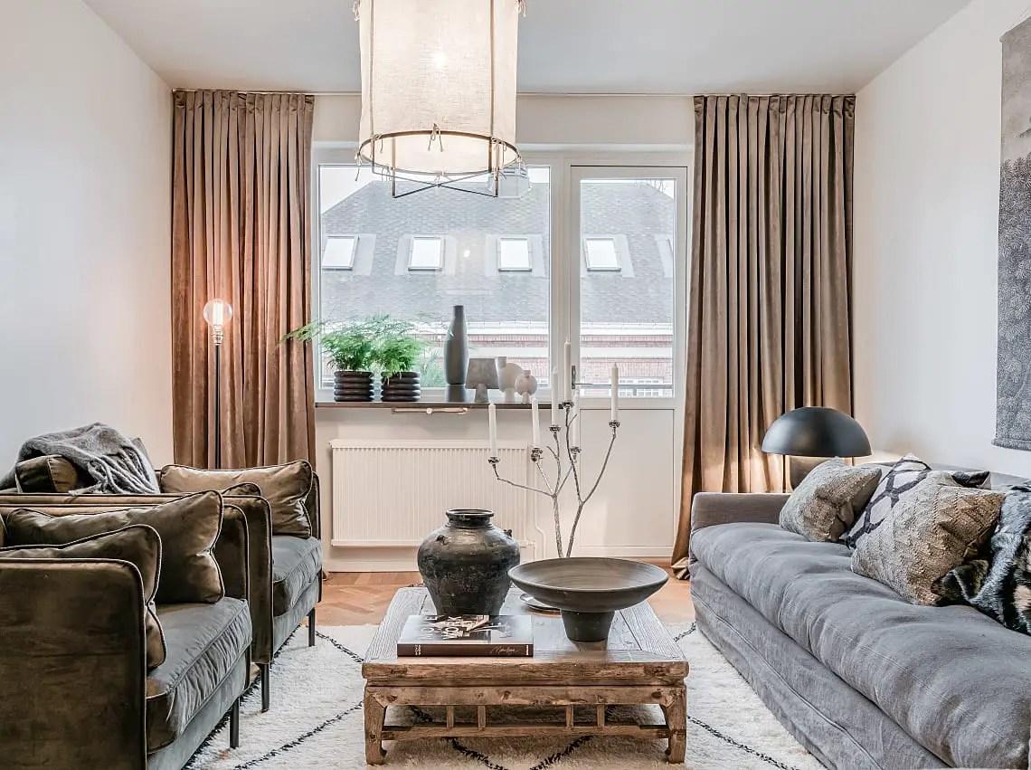 Un appartement contemporain en couleurs naturelles
