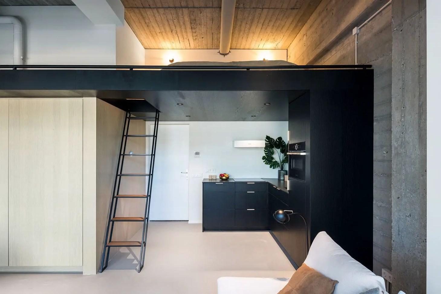 loft keuken modern