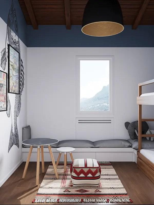 Ideas para dormitorios infantiles compartidos