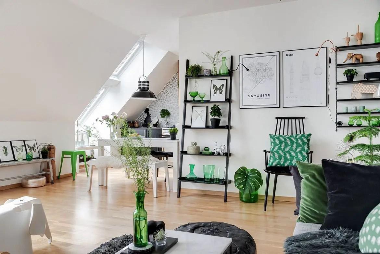 Tendance Deco 2019 Salon 10 salons à la décoration verte pour suivre la tendance