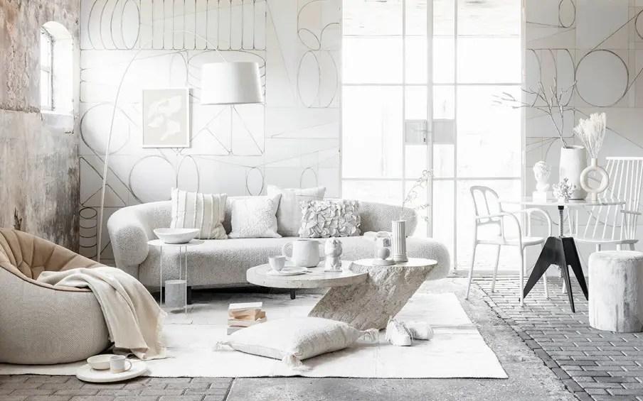 En design intérieur, le blanc est toujours une bonne idée