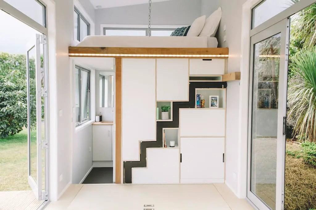 Une tiny house pour les amoureux du design à louer dans un fabuleux pays