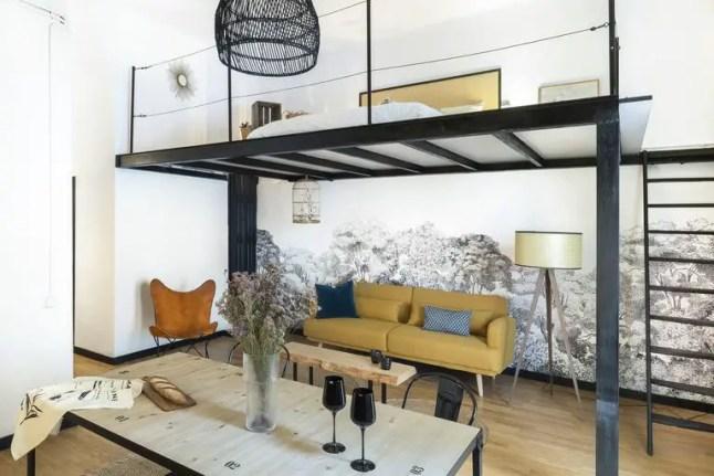 Un petit loft design revisité par la grâce du Home Staging