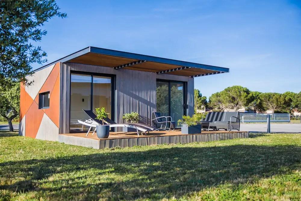 Pour installer cette mini maison container sur votre terrain, il vous en coutera environ 40.000 €