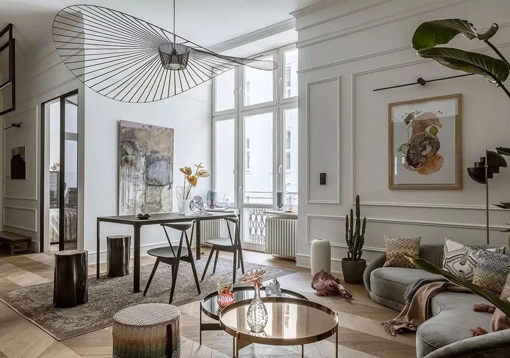 Un appartement contemporain par le studio de design Goszczdesign - PLANETE DECO a homes world