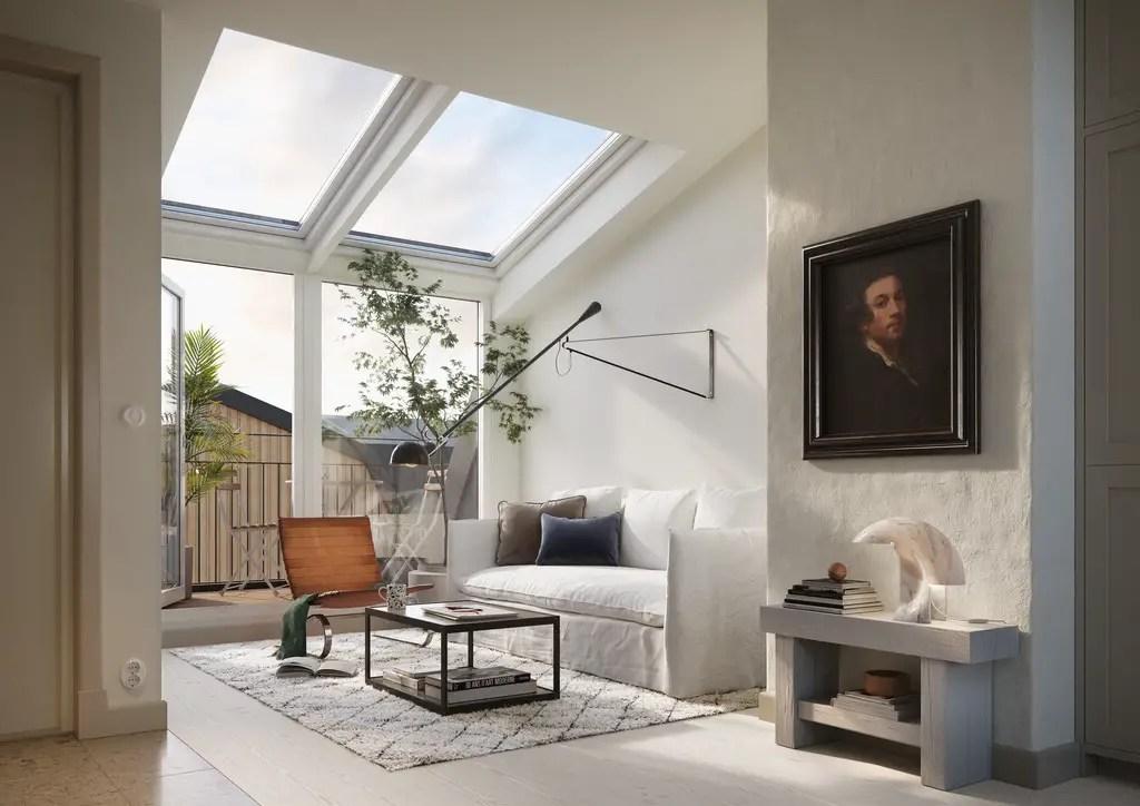 Décoration design et neutre dans un appartement de 35m2 sous les toits - PLANETE DECO a homes world