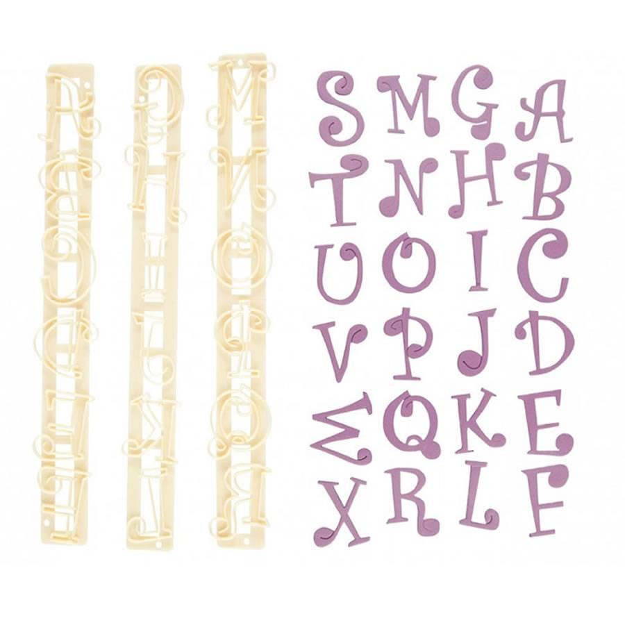 emporte piece lettres alphabet funcky reglette fmm