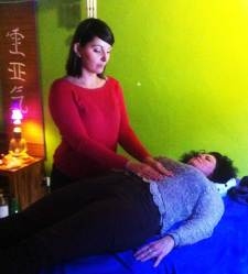 Pratique du Reiki en stage