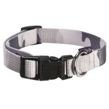 chiens-bobby-collier-camouflage-gris